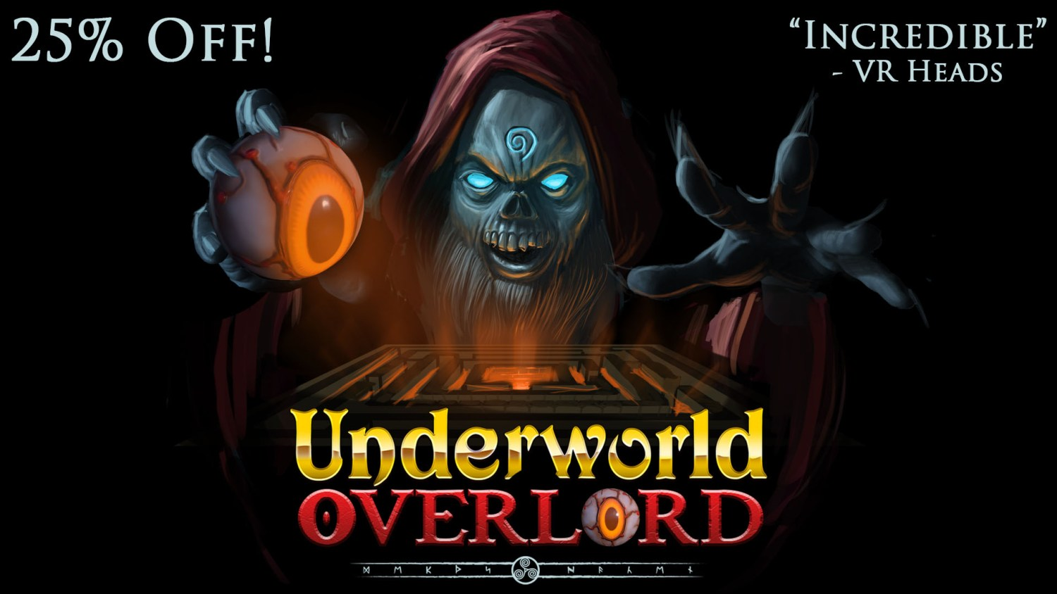 25% OFF Underworld Overlord asset