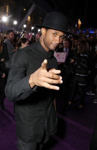 Usher red carpet
