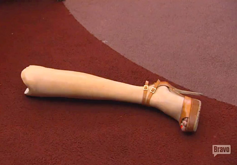 Aviva_Drescher_RHONY_Throws_Prosthetic_Leg_During_Fight_ OTHER SIDE OF THE FAME_0