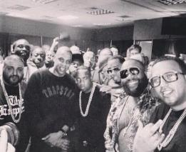 Kaled. Jay Z. Diddy. Rick Ross. And Dem.