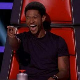 Usher. Voice.