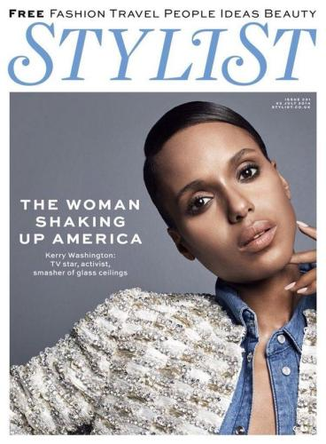 Kerry Washington Stylist Magazine