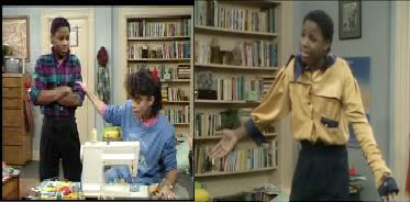 Theo and denise and the yellow shirt cosby show