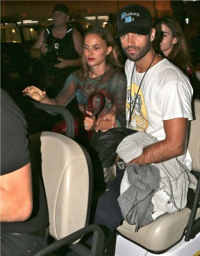 Natalie Port Benjamin Millepied Other The Run OTHER SIDE OF THE FAME