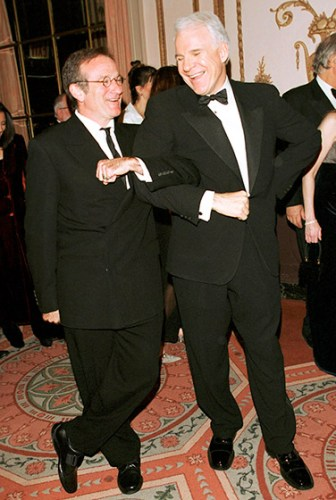 ROBIN WILLIAMS WITH STEVE MARTIN _other side of the fame_