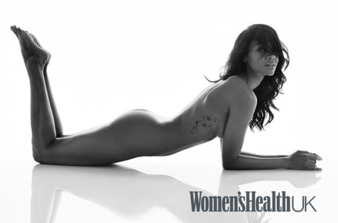 ZOES SALDANA POSES NUDE FOR WOMENS HEALTH MAG _OTHERSIDE OF THE FAME 2