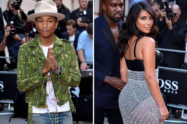 PHOT CREDIT_ANTHONY HARVEY_GETTY IMAGES_pharrell-kimkardashian_BRITISH GQ AWARDS SEPT 2_OTHER SIDE OF THE FAME