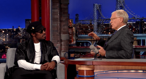 Andre on Letterman