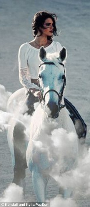 kylie on horse