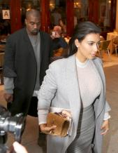 Kim and Kanye NYC2
