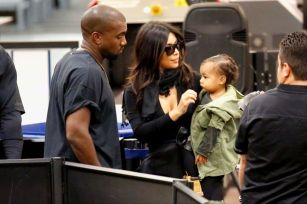 Kim-Kardashian-West-Kanye-West-North-West