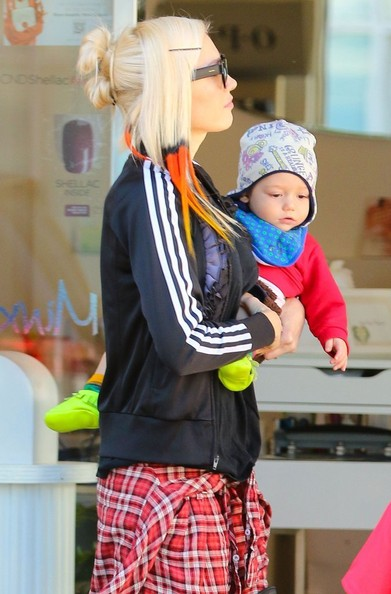 Gwen Stefani with her boys3