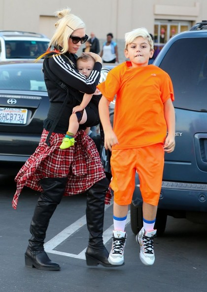 Gwen Stefani with her boys6