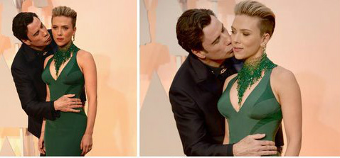 John Travolta Scarlett Johansson