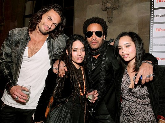 lisa-bonet-mamoa and zoe