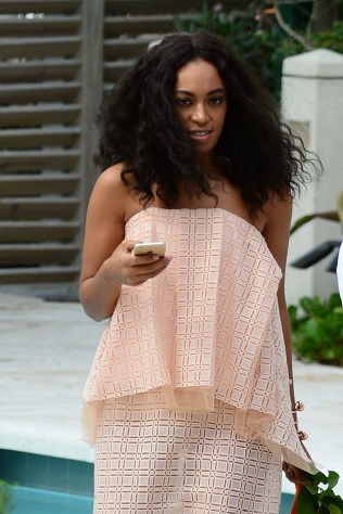 Solange Knowles attends The Veuve Clicquot Carnival event