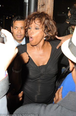 Whitney the night she died