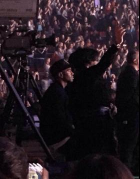 BigSean in audience