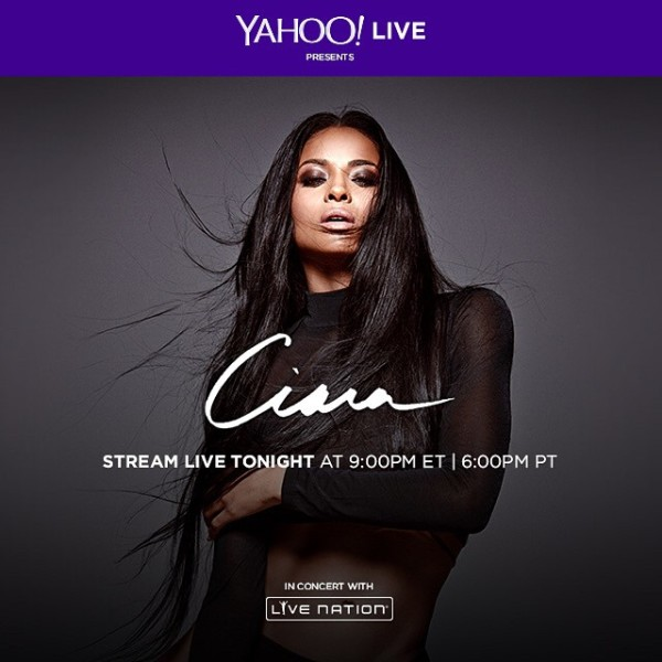 CiaraLiveYahooStream