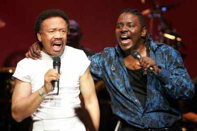 Maurice White and Phillip Bailey
