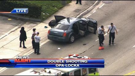 Donesha Gantt Double Shooting Opa Locka Florida