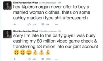Kim Kardashian Fires Back At Piers Morgan Regarding Nude Selfies