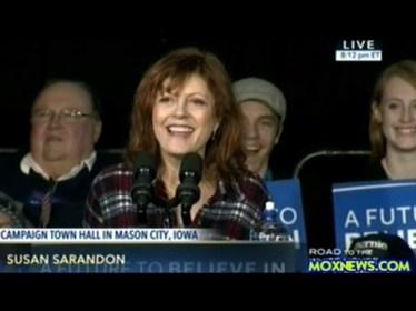 Susan Sarandon for Bernie Sanders