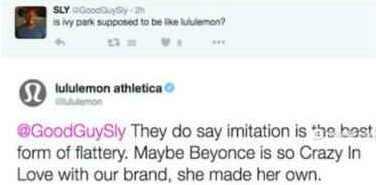 Beyonce fans v Lululemon a