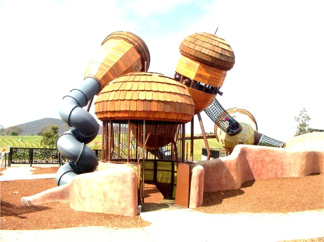 Playground at the National Arboretum Canberra