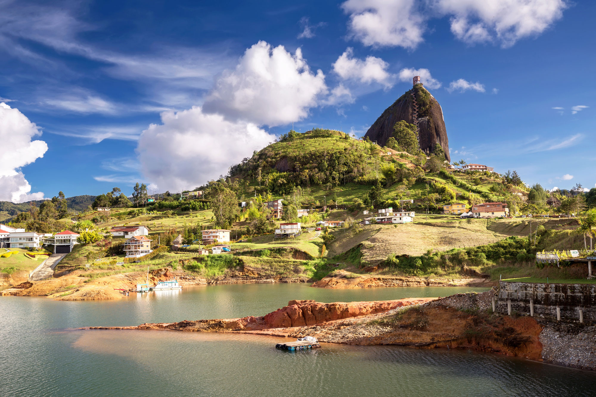 The Rock near Guatape, Colombia