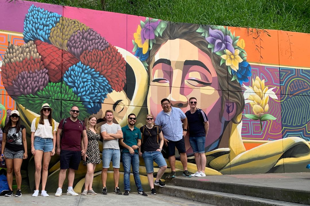 Colombia group tour with Other Way Round Travel