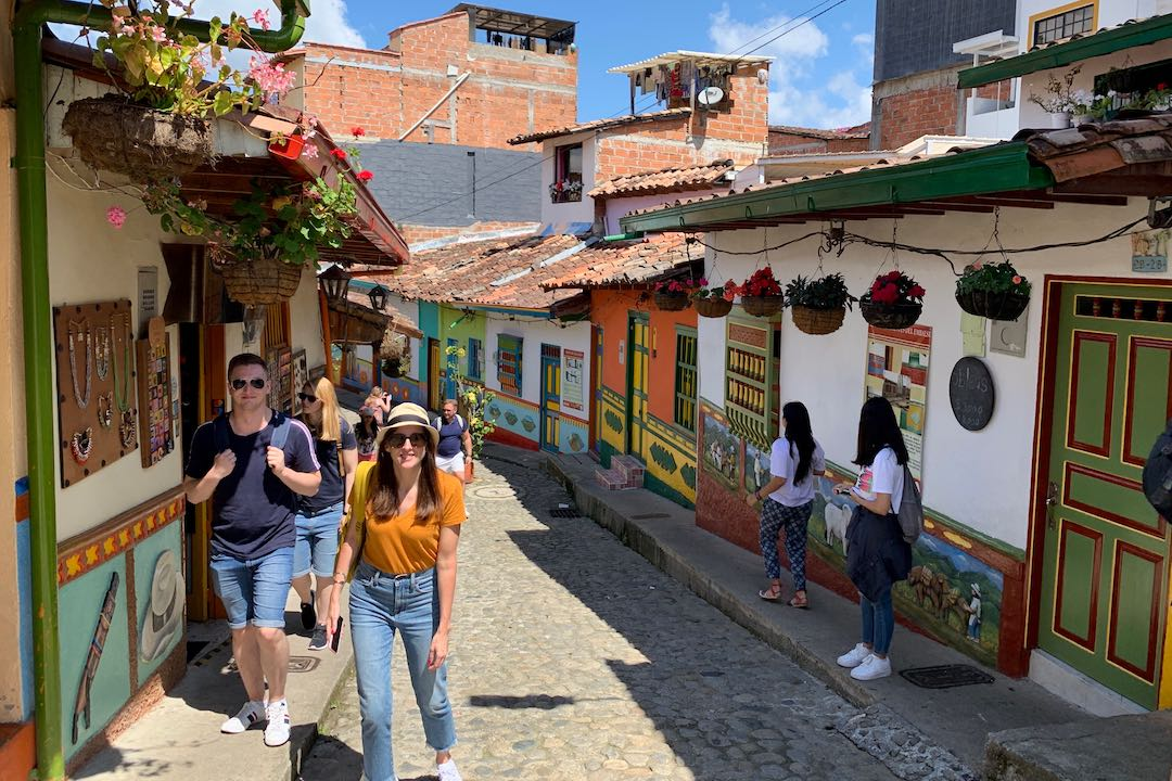 Visiting Guatape, Colombia with Other Way Round Travel