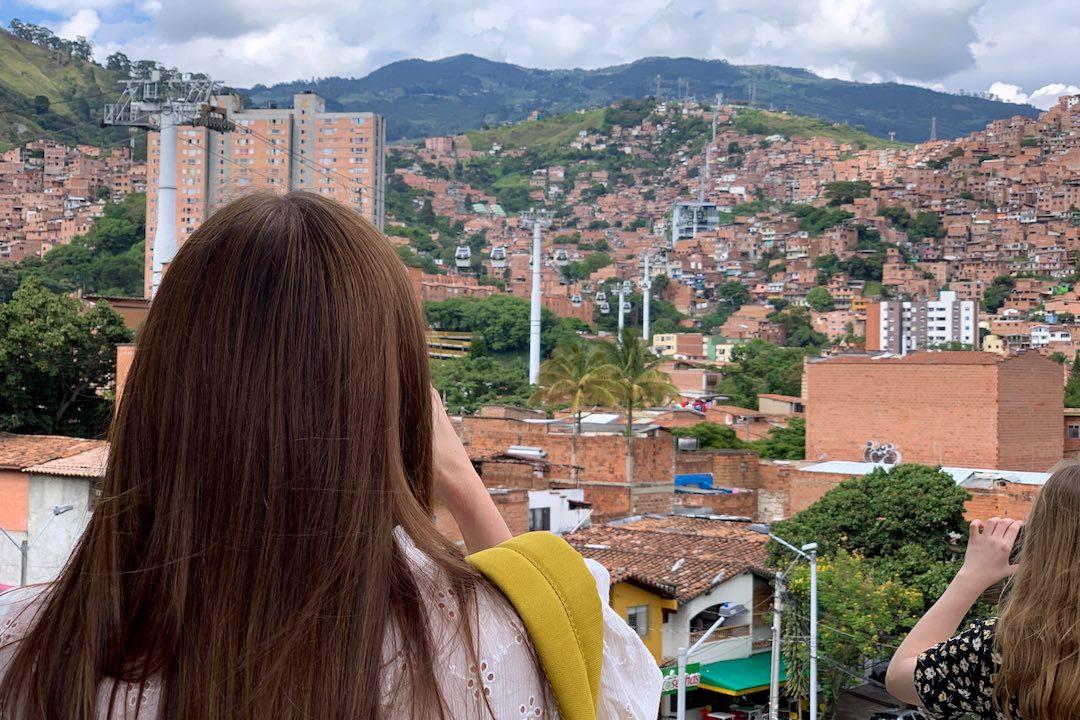 Views over Medellin, Colombia