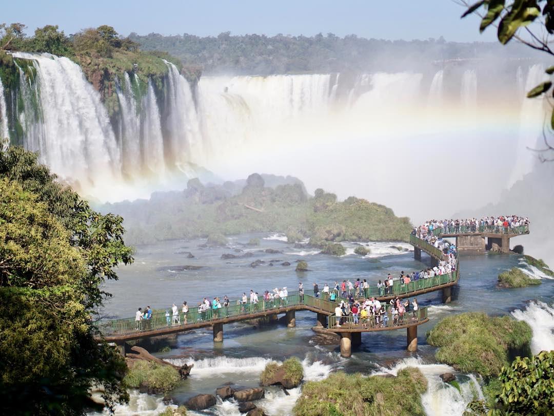 Solo travel to Brazil Iguacu Falls