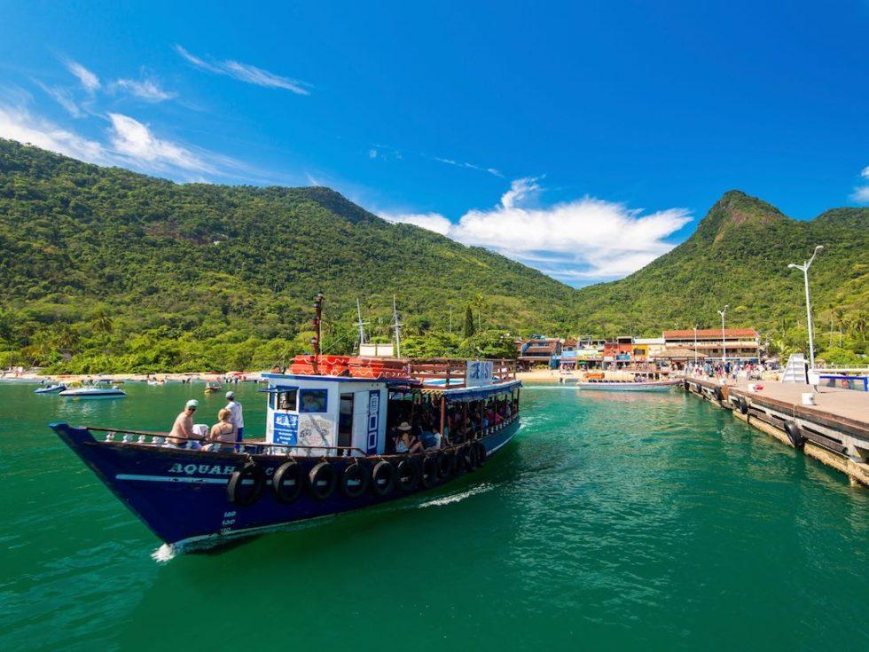 Solo travel to Brazil Ilha Grande