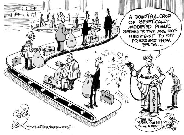 Monsanto cartoon
