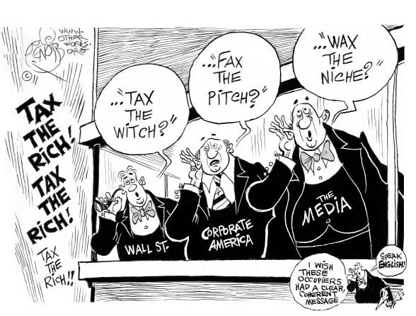 Tax the Rich cartoon