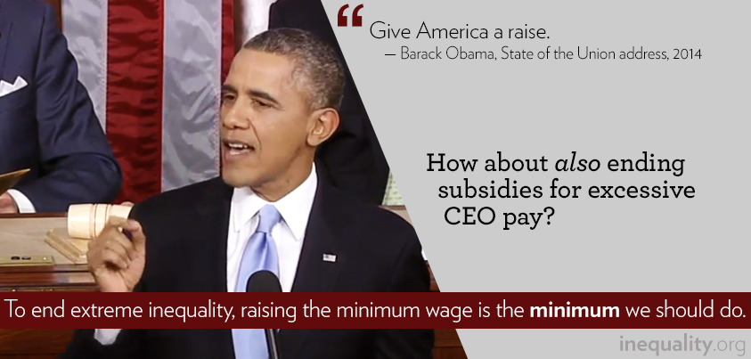 The Minimum We Can Do to Fight Inequality