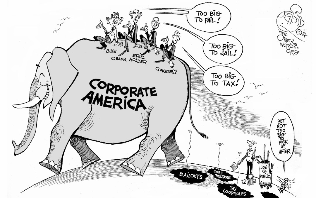 When Corporate America Gets Too Big to Tax