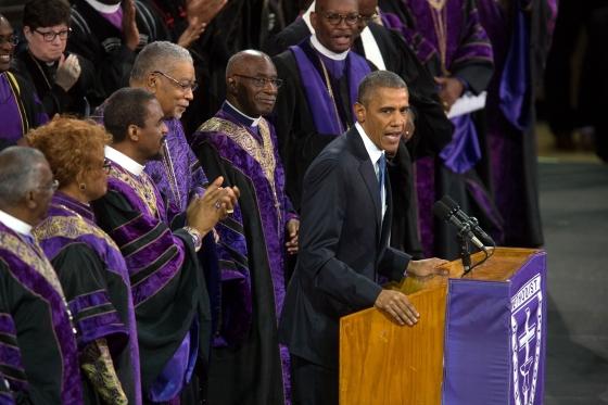 Obama's Amazing Grace