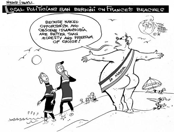 Burkini-ban