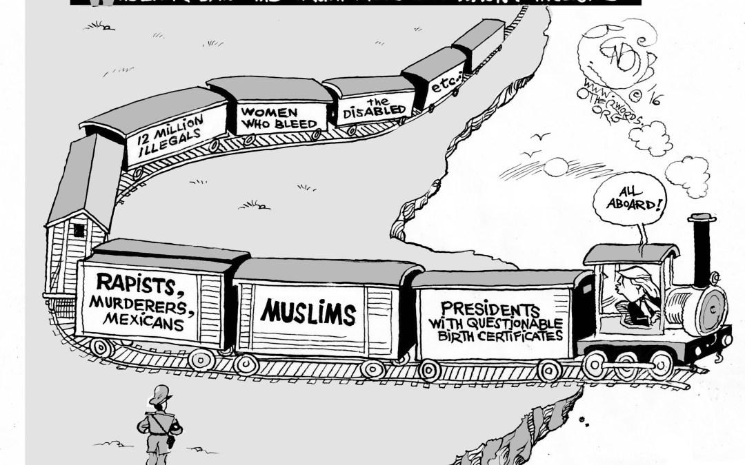 All Aboard Trump's Death Train