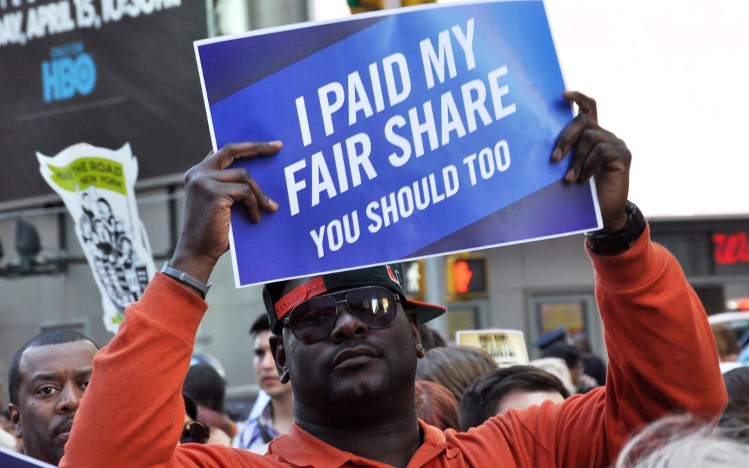 You Pay Your Fair Share. Shouldn't Wall Street?