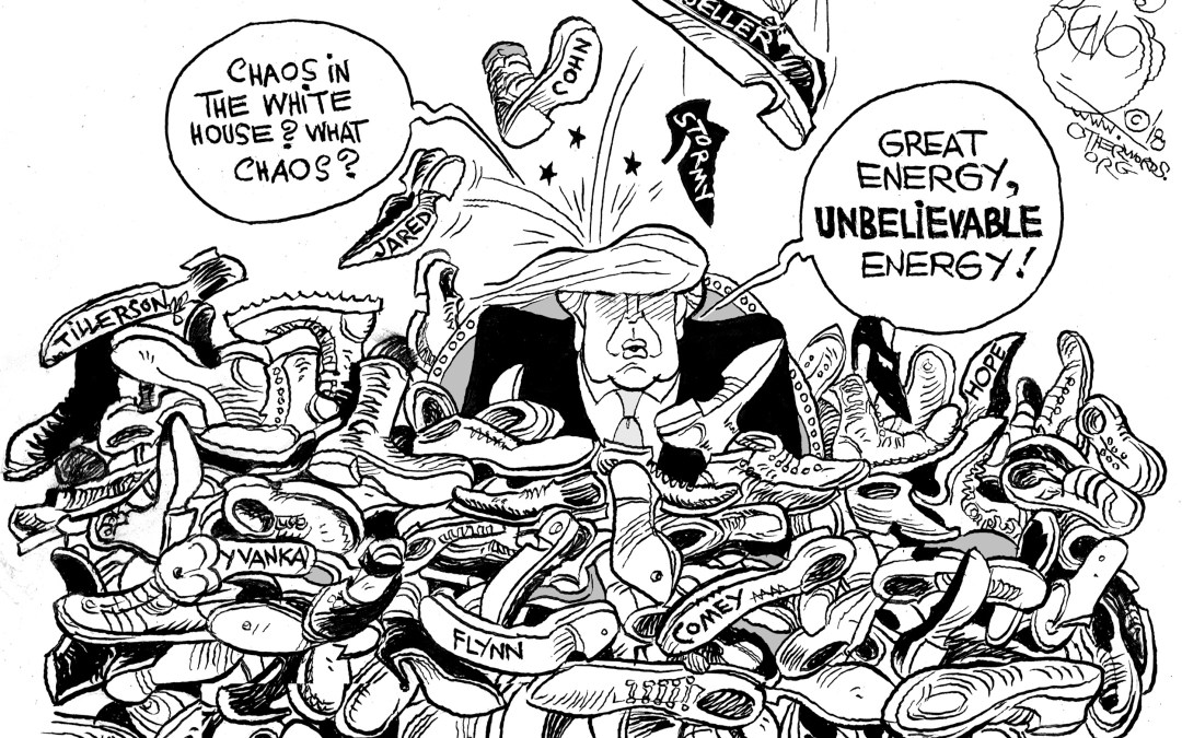 The 'Other Shoe' Just Keeps Dropping on the White House