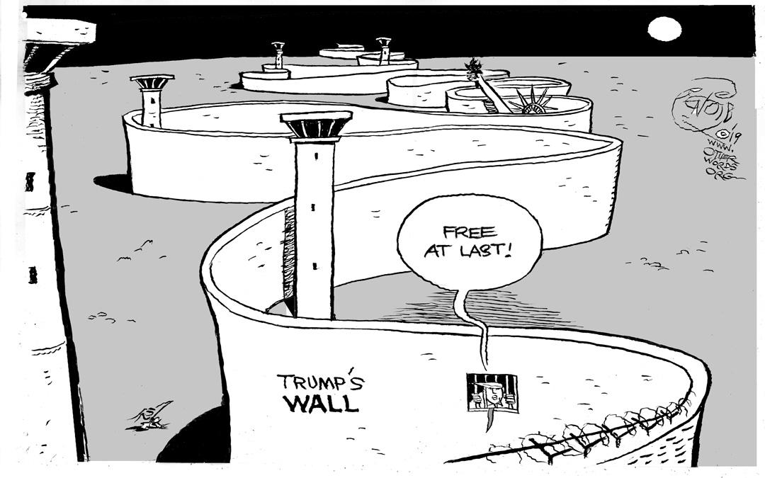 Trump's Wall: Free at Last