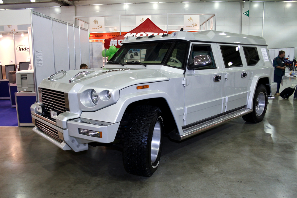Rich and Clueless? Buy a $500,000 Armored Car