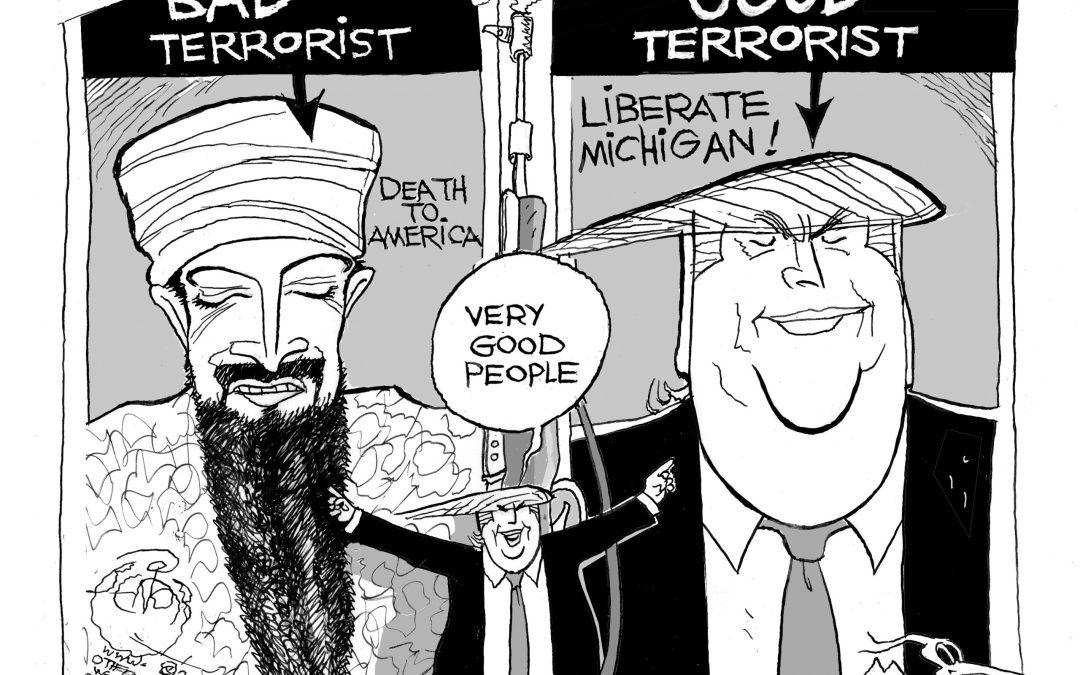 Good Terrorists, Bad Terrorists