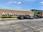 An Art Van store in Westland, Michigan advertises a liquidation sale. (Shutterstock)
