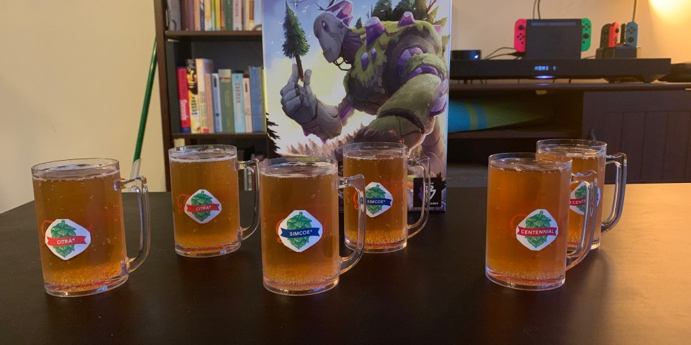 Century Golem Edition & Field to Ferment: Rethemed Game with a Rethemed Beer