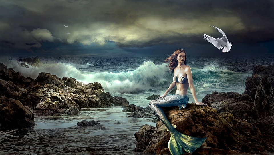 Mermaids have been seen all over the world.